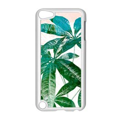 Pachira Leaves  Apple Ipod Touch 5 Case (white)