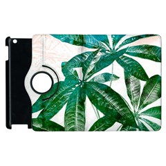 Pachira Leaves  Apple Ipad 3/4 Flip 360 Case by DanaeStudio