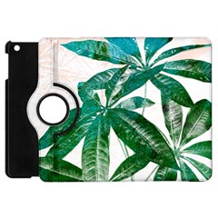 Pachira Leaves  Apple Ipad Mini Flip 360 Case