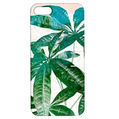 Pachira Leaves  Apple Iphone 5 Hardshell Case With Stand