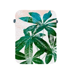 Pachira Leaves  Apple Ipad 2/3/4 Protective Soft Cases by DanaeStudio
