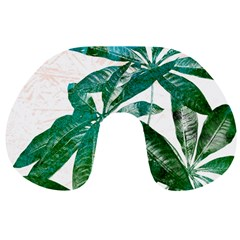 Pachira Leaves  Travel Neck Pillows