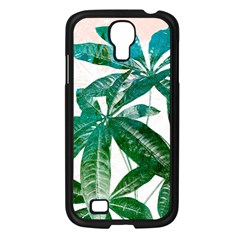 Pachira Leaves  Samsung Galaxy S4 I9500/ I9505 Case (black) by DanaeStudio
