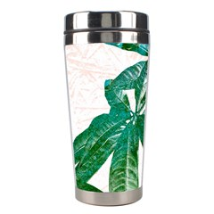 Pachira Leaves  Stainless Steel Travel Tumblers