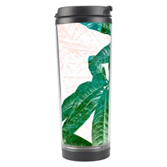 Pachira Leaves  Travel Tumbler