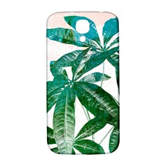 Pachira Leaves  Samsung Galaxy S4 I9500/i9505  Hardshell Back Case by DanaeStudio