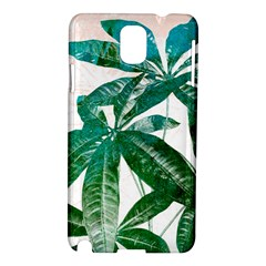 Pachira Leaves  Samsung Galaxy Note 3 N9005 Hardshell Case