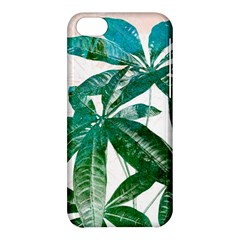 Pachira Leaves  Apple Iphone 5c Hardshell Case by DanaeStudio