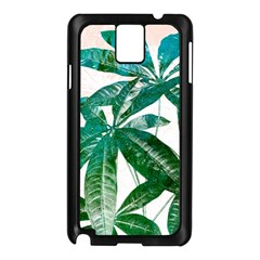 Pachira Leaves  Samsung Galaxy Note 3 N9005 Case (black) by DanaeStudio