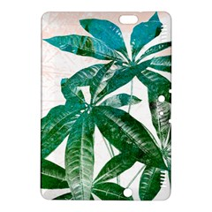Pachira Leaves  Kindle Fire Hdx 8 9  Hardshell Case by DanaeStudio