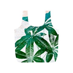 Pachira Leaves  Full Print Recycle Bags (s)  by DanaeStudio