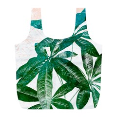 Pachira Leaves  Full Print Recycle Bags (l)  by DanaeStudio