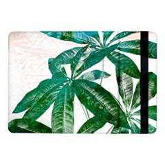 Pachira Leaves  Samsung Galaxy Tab Pro 10 1  Flip Case by DanaeStudio