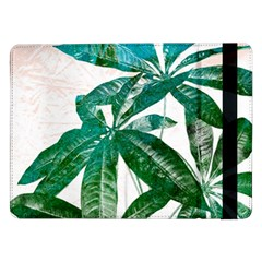Pachira Leaves  Samsung Galaxy Tab Pro 12 2  Flip Case