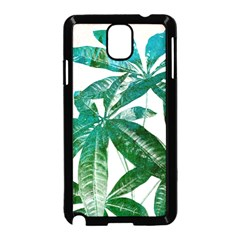 Pachira Leaves  Samsung Galaxy Note 3 Neo Hardshell Case (black)