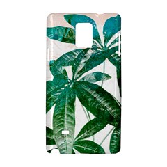 Pachira Leaves  Samsung Galaxy Note 4 Hardshell Case