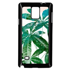 Pachira Leaves  Samsung Galaxy Note 4 Case (black)