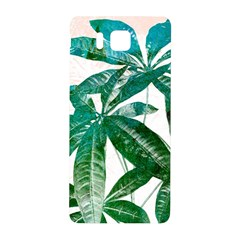 Pachira Leaves  Samsung Galaxy Alpha Hardshell Back Case by DanaeStudio