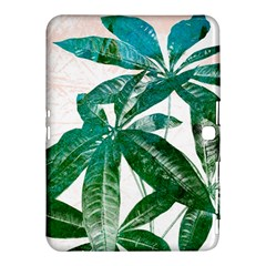 Pachira Leaves  Samsung Galaxy Tab 4 (10.1 ) Hardshell Case  by DanaeStudio