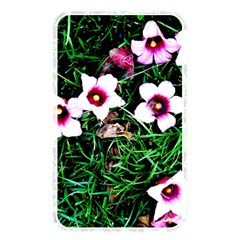 Pink Flowers Over A Green Grass Memory Card Reader