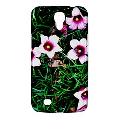 Pink Flowers Over A Green Grass Samsung Galaxy Mega 6 3  I9200 Hardshell Case