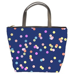 Playful Confetti Bucket Bags by DanaeStudio