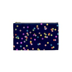 Playful Confetti Cosmetic Bag (small)  by DanaeStudio