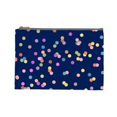 Playful Confetti Cosmetic Bag (large)