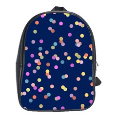 Playful Confetti School Bags(large)  by DanaeStudio