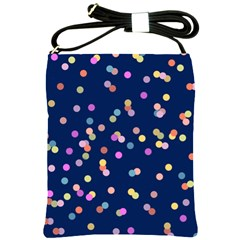 Playful Confetti Shoulder Sling Bags