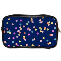 Playful Confetti Toiletries Bags by DanaeStudio