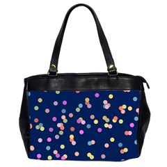 Playful Confetti Office Handbags (2 Sides)  by DanaeStudio
