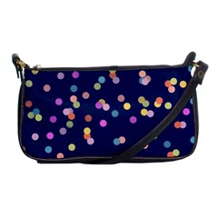 Playful Confetti Shoulder Clutch Bags