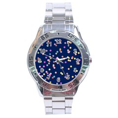 Playful Confetti Stainless Steel Analogue Watch