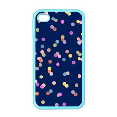 Playful Confetti Apple Iphone 4 Case (color)