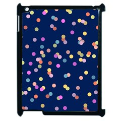 Playful Confetti Apple Ipad 2 Case (black)