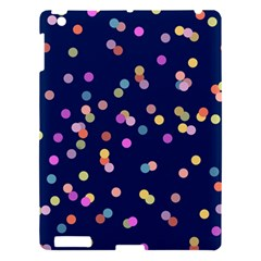 Playful Confetti Apple Ipad 3/4 Hardshell Case