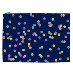 Playful Confetti Cosmetic Bag (xxl)