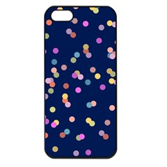 Playful Confetti Apple Iphone 5 Seamless Case (black)