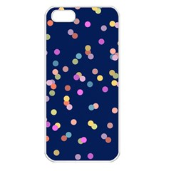 Playful Confetti Apple Iphone 5 Seamless Case (white)