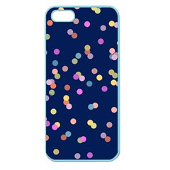 Playful Confetti Apple Seamless Iphone 5 Case (color)