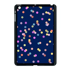 Playful Confetti Apple Ipad Mini Case (black)