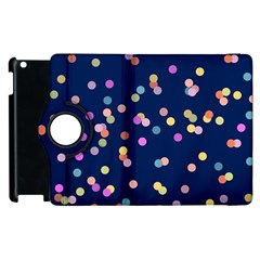 Playful Confetti Apple Ipad 3/4 Flip 360 Case