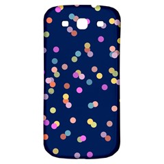 Playful Confetti Samsung Galaxy S3 S Iii Classic Hardshell Back Case