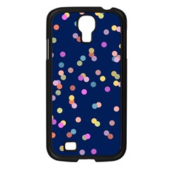 Playful Confetti Samsung Galaxy S4 I9500/ I9505 Case (black) by DanaeStudio