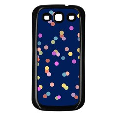 Playful Confetti Samsung Galaxy S3 Back Case (black)