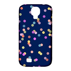 Playful Confetti Samsung Galaxy S4 Classic Hardshell Case (pc+silicone)