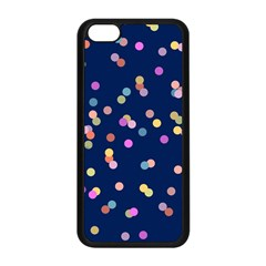 Playful Confetti Apple Iphone 5c Seamless Case (black)