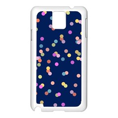 Playful Confetti Samsung Galaxy Note 3 N9005 Case (white)
