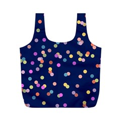 Playful Confetti Full Print Recycle Bags (m)